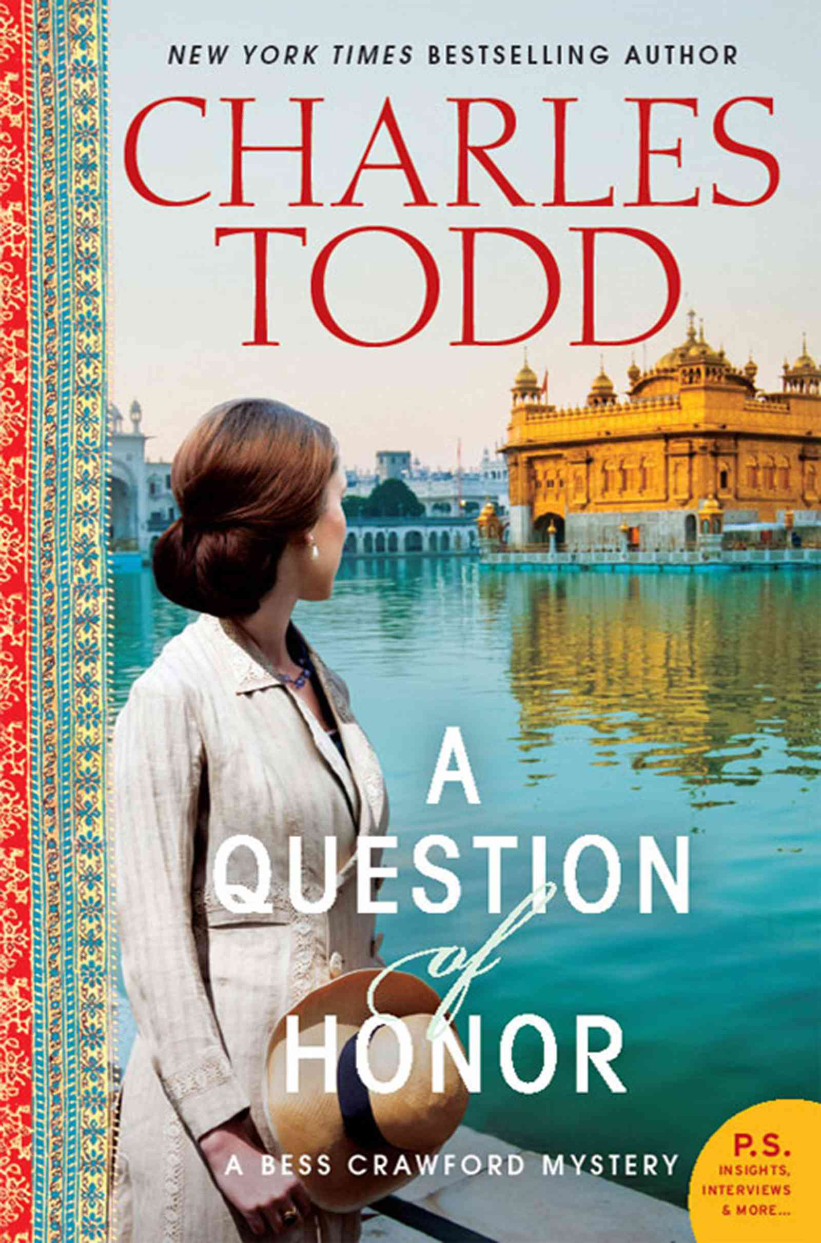 A Question of Honor By Todd, Charles